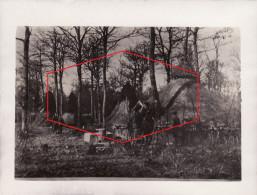 """Photo 14-18 Au Bois D´Hennemont (près Etain) - Abris Allemand, Hutte, Position Du """"canon De Conflans"""" (A157, Ww1, Wk 1) - France"""