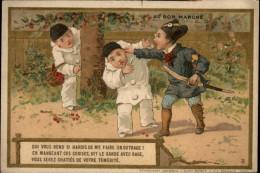 GARDES CHAMPETRES - Chromo Au Bon Marché - Pierrot - Au Bon Marché
