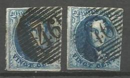 Belgique - Médaillons - Obl. P46 GEDINNE - Belgique