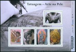 BRAZIL 2016 -  TATTOO  ART IN THE SKIN -  TATOUAGE - 5v  MINT - Brasilien