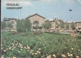 51972- CHISINAU- RAILWAY STATION, CAR - Moldavie