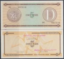 1985-BK-111 CUBA EXCHANGE CURRENCY 1985 5$ . D. UNC - Cuba