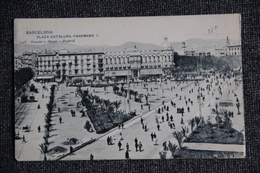 BARCELONA - Plaza Cataluña, Panorama. - Barcelona