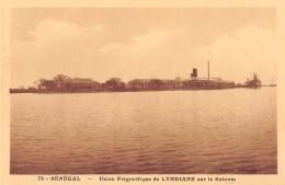 "06404  ""SENEGAL - USINE FRIGORIFIQUE DE LYNDIANE"" CART. ILL. ORIG. NON SPED. - Senegal"