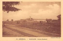 "06393  ""SENEGAL -  KAOLACK - USINES GAUDARD"" CART. ILL. ORIG. NON SPED. - Senegal"