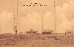 """06396 """"SENEGAL -  RUPISQUE - LA POSTE DE T.S.F."""" CART. ILL. ORIG. NON SPED. - Senegal"""