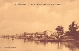 """06397 """"SENEGAL -  SANT LOUIS - LE PETIT BRAS DU FLEUVE"""" CART. ILL. ORIG. NON SPED. - Senegal"""