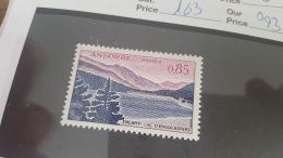 LOT 330295 TIMBRE DE ANDORRE NEUF* N°163 VALEUR 93 EUROS