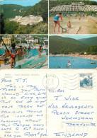 Hotel Mimosa, Rabac, Croatia Postcard Posted 1983 Stamp - Kroatien
