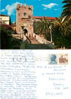 Korcula, Croatia Postcard Posted 1975 Stamp - Kroatien