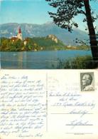 Bled, Slovenia Postcard Posted 1973 Stamp - Slovenia