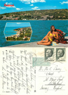 Portoroz, Slovenia Postcard Posted 1973 Stamp - Slovenia