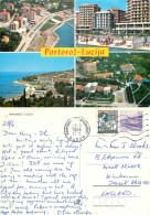 Lucija, Portoroz, Slovenia Postcard Posted 1988 Stamp - Slovenia