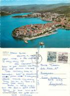 Korcula, Croatia Postcard Posted 1977 Stamp - Kroatien