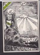 Postkarte Dillingen 1938 - Allemagne