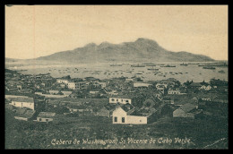 SÃO VICENTE  - Cabeça De Washington ( Ed. Bazar Oriental De Augusto Figueira )    Carte Postale - Cap Vert