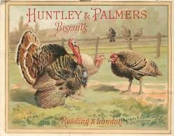 PIE-16-P - 2287 : HUNTLEY ET PALMERS BISCUITS  DINDES ET DINDONS - Confectionery & Biscuits