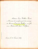 JOSSE BATKIN BOVIE EMDOND ANNA NAELTJENS ANVERS 1897 - Huwelijksaankondigingen
