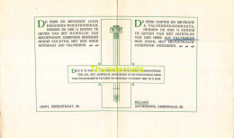 LEON BRESSSERS WOESTENBERGH JOSEPHINE ADVOKAAT JAN VALVEKENS DOKTER ROMBAUTS GENT RILLAAR 1925 - Boda