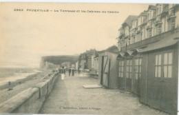Pourville: La Terrasse Et Les Cabines Du Casino - Not Circulated. (A. Bettembos - Dieppe) - Dieppe