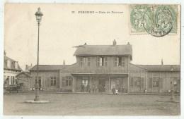 Péronne  (80.Somme)  La Gare - Peronne