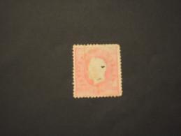 ANGOLA - 1885 LUIS 20 R., Dent. 12 1/2, (brutta Qualità) - TIMBRATO/USED - Angola