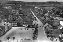 CPSM - VILLEBLEVIN (89) - Vue Aérienne Du Centre En 1950 - Villeblevin