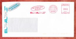 Brief, Hasler C26-2840, Wir Kennen Israel.. El Al, 80 Pfg, Frankfurt 1987 (33372) - Affrancature Meccaniche Rosse (EMA)