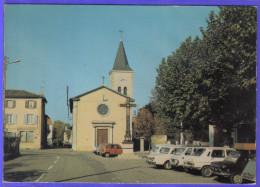 Carte Postale 69. Francheville-le-Haut  4L Renault Voitures Anciennes  Très Beau Plan - Frankreich