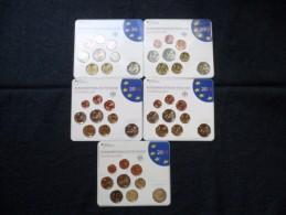 Alemania  Cartera  De Euros  2014    Lote Completo  5 Cecas - Allemagne