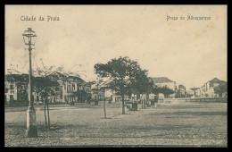 SANTIAGO - PRAIA -Praça Do Albuquerque    Carte Postale - Cap Vert