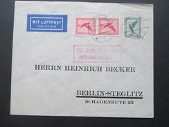 DR 1930 Flugpostmarken MiF Mit Luftpost Befördert Luftpostamt Berlin C2. Hannover Linden - Briefe U. Dokumente