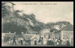 SANTIAGO - Uma Entrada Da Cidade    Carte Postale - Cap Vert