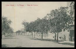 SANTIAGO -  Rua Do Corvo   Carte Postale - Cap Vert