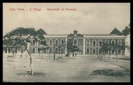 SANTIAGO - Repartição De Fazenda   Carte Postale - Cap Vert