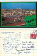 St Paul's Bay, Malta Postcard Posted 1989 Stamp - Malta