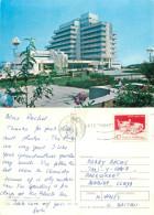 Vedere Vue, Costinesti, Romania Postcard Posted 1986 Stamp - Romania