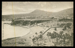 SANTIAGO - PRAIA ( Ed. Auty Series G.H. Whitley Bay Nº 4140) Carte Postale - Cap Vert