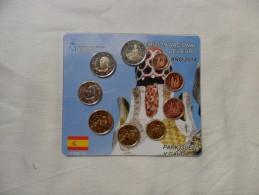 España  Emisión Nacional Del Euro  2014 - Espagne