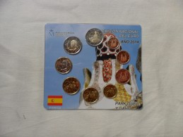 España  Emisión Nacional Del Euro  2014 - Spagna