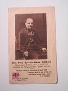 Image Religieuse Rév Père Sylvain-Marie GIRAUD Missionnaire De N.D De La Salette Mort Le 22 Août 1885 - Images Religieuses
