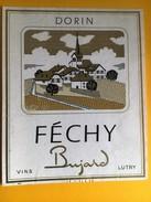2451- Suisse Vaud Féchy Dorin Bujard - Etiquettes