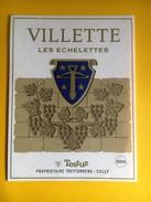 2454- Suisse Vaud Villette Les Echelettes  Dorin Testuz - Etiquettes