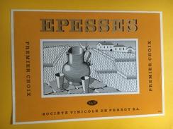2456- Suisse Vaud Epesses - Etiquettes