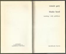 ROMAIN GARY - BLANKE HOND - BELFORT REEKS DAVIDSFONDS LEUVEN Nr. 587 - 1973-3 - Literature