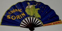 """Eventail Publicitaire """"COGNAC SORIN"""" - Non Classés"""