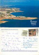 Protaras, Cyprus Postcard Posted 1997 Stamp - Cipro