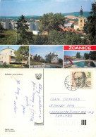 Zdanice, Czech Republic Postcard Posted 1990 Stamp - Czech Republic