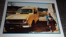 Mini Petit Calendrier Poche La Poste   Voiture 4L - 1992 - Small : 1991-00