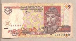Ucraina - Banconota Circolata Da 2 Hryvni - 2001 - Ukraine